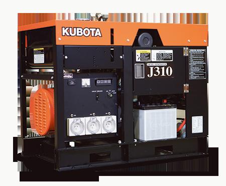 Kubota-Generators-J-310-450